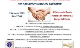 Massa: XXII° giornata Nazionale della Malattia di Alzheimer