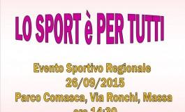 """3° edizione di: """"Lo sport è per tutti"""""""