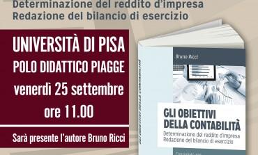 Il libro di Bruno Ricci presentato all'Università di Pisa