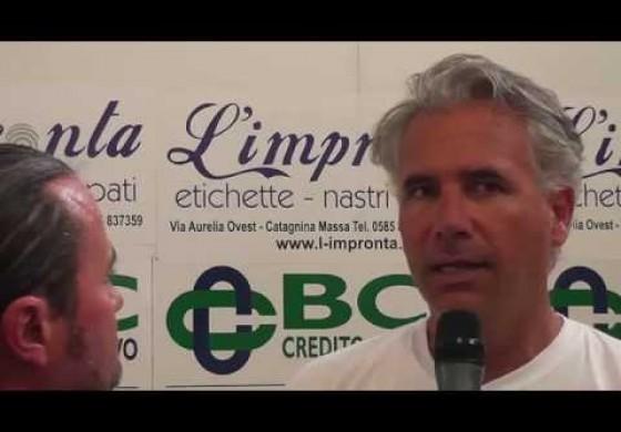 Massese: video intervista ad Andrea Danesi dopo Ghiviborgo - Massese 2 - 0