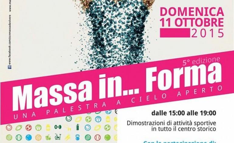 """Domenica 11 ottobre quinta edizione di """"Massa in … Forma"""""""