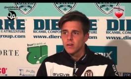 Video intervista a Giacomo Rosaia dopo Foligno Massese 1 - 0