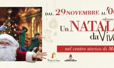 """Massa: """"Natale da Vivere"""", dal 29 novembre al 6 gennaio"""