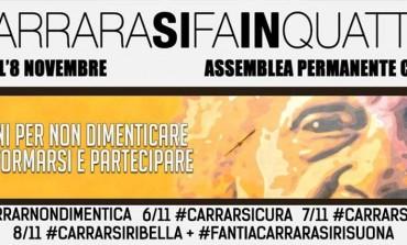 #carrarasifainquattro: quattro giorni di informazione, approfondimenti ed eventi organizzati da Assemblea Permanente