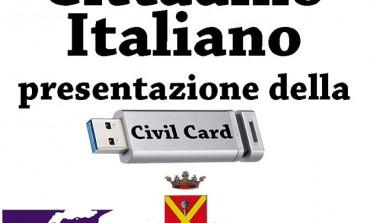 Massa: lunedì 30 novembre, presentazione della Civil Card