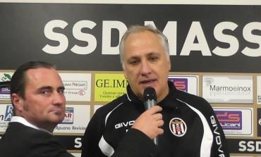 Video intervista a Fabrizio Tazzioli dopo Massese - Viareggio 2014 1 - 1 del 15/11/15