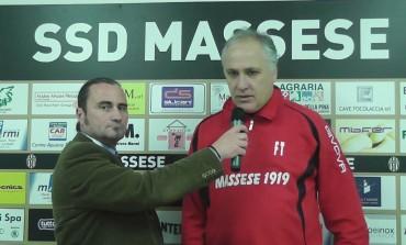 Massese - Jolly Montemurlo 1 - 1, la video intervista all'allenatore della Massese Fabrizio Tazzioli