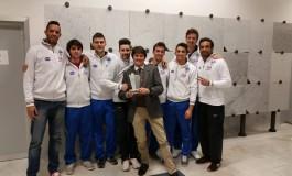 """Consegnato il premio """"Panathlon Etica e Sport 2015"""" al CMC Carrara"""