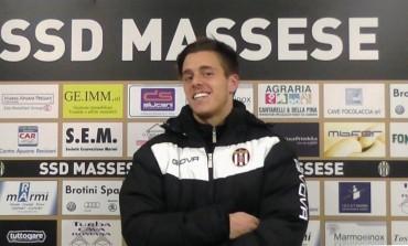 Massese V. Montecatini 1 - 1 video intervista a Giacomo Rosaia, centrocampista U. S. Massese 1919 del 13/12/15