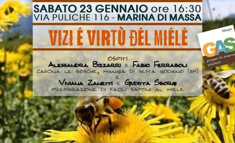 """""""Vizi e virtù del miele"""": incontro pubblico organizzato dal GAS di Massa"""