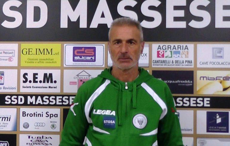 """Intervista all'allenatore della Pianese Rosolino Puccica, dopo il pareggio con la Massese al """"degli Oliveti"""" del 10/01/16"""