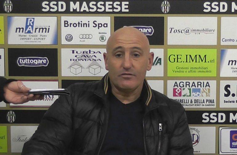 Video intervista a Sergio Battistini, allenatore della Massese, dopo Massese Città di Foligno 1 – 1 del 28/02/16
