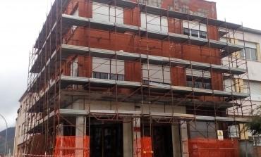 Istituto Toniolo Massa: proseguono i lavori di messa in sicurezza Interventi sulle pensiline e facciata, ultimata diagnostica sui controsoffitti