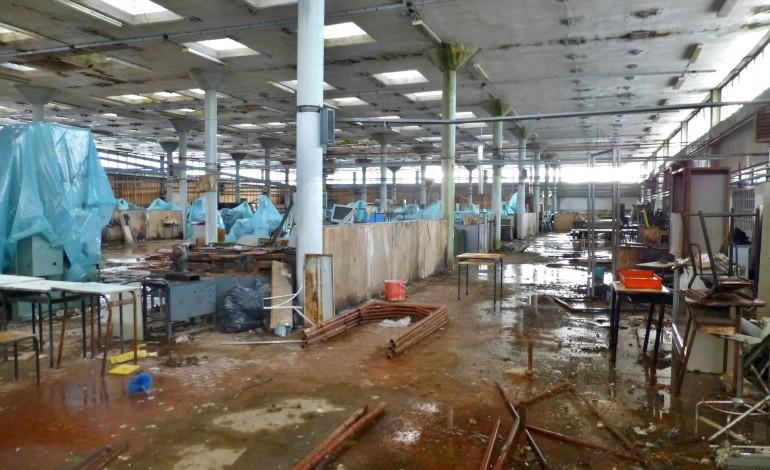Massa: Situazione di abbandono nel laboratorio-officina dell'Itis Meucci