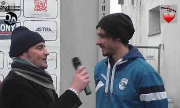 Video intervista a Samuele Ceciarini, centrocampista della C. S. Scandicci dop la sconfitta interna per 2 a 0 con la Massese dello 07/02/16