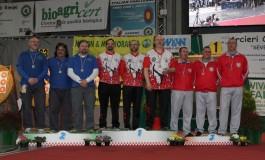 Gli Arcieri Fivizzano conquistano quattro argenti ai Campionati Italiani Indoor