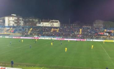 Carrarese: punizione eccessiva per gli azzurri contro il Pisa. Rigore netto, non fischiato