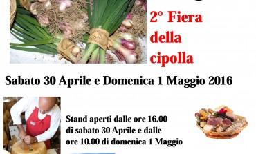 Sabato 30 aprile e domenica 1 maggio 2° fiera della cipolla a Treschietto di Bagnone