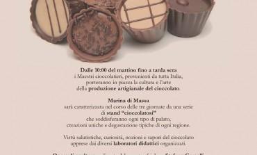 "Marina di Massa: Da sabato 23 a lunedì 25 aprile 1° edizione di ""Chocorelax"""