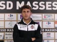 Video intervista esclusiva a Tommaso Biasci, match-winner della terza di campionato Massese Sporting Recco 2 - 1 del 18/09/16