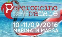 """Marina di Massa: """"Peperoncino d'aMare"""" il 10 e 11 settembre"""