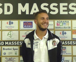 """Video intervista esclusiva a Matteo Remorini, """"jolly"""" della Massese, dopo la vittoria interna per 2 ad 1 sulla Viareggio 2014 dello 09/10/16"""