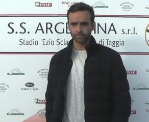 Video intervista all'allenatore dell'Argentina Arma, Nicola Ascoli, dopo la sconfitta interna per 2 ad 1 con la Massese del 16/10/16