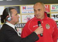 Video intervista esclusiva a G. Lazzini, dopo Massese - Sestri Levante 4 - 1 del 26/03/17