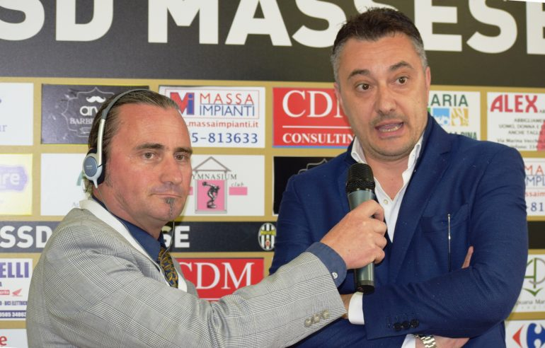 Video intervista esclusiva a R. Pinzani dopo Massese – Real Forte Querceta 1 – 2  dello 09/04/17