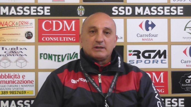 Video intervista esclusiva a L. Magrini, prima della semifinale play-off, Massese – Finale. Del 12/05/17