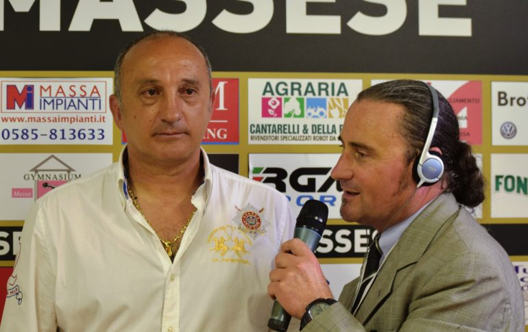 Video intervista a L. Magrini dopo la semifinale play-off Massese – Finale 2 – 1  del 14/05/17