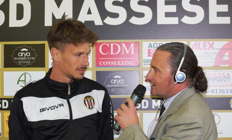 Video intervista a Jacopo Zagaglioni dopo la semifinale play-off Massese – Finale 2 – 1  del 14/05/17