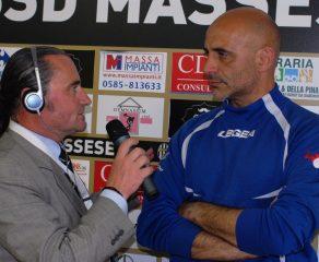 Video intervista a F. Casazza, dopo Massese - Savona 2 - 1, play-off  del 21/05/17.