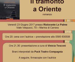 Venerdì 23 l'uscita ufficiale a Marina di Carrara del nuovo romanzo di Michela Rossi