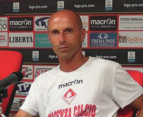 Intervista all'allenatore della Piacenza Arnaldo Franzini, dopo Piacenza - Massese 1 - 0