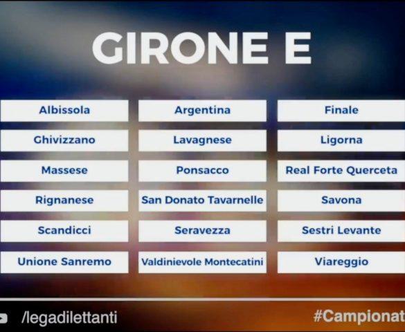 """Composti i gironi di Serie """"D""""."""
