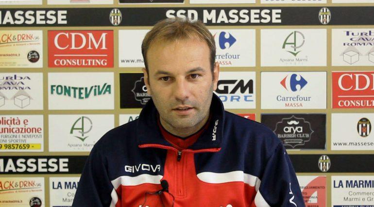 Conferenza stampa di C. Zanetti, prima di Ponsacco – Massese. Del 29/09/17