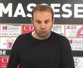 Massese - Seravezza Pozzi 1 - 1 Intervista a C. Zanetti dello 08/10/17