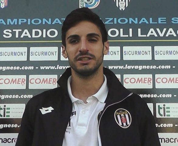 Lavagnese - Massese 2 - 2 Intervista a D. Frugoli del 15/10/17