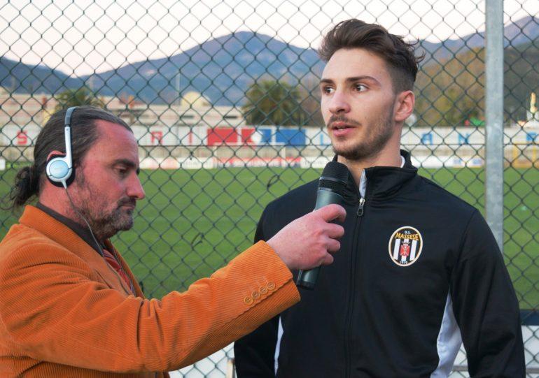 Sestri Levante – Massese 1 – 0 Video intervista a M. Barsottini dello 03/12/17