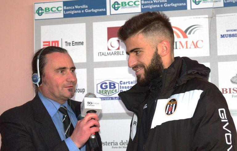 Real Forte Querceta – Massese 0 – 0 Video intervista ad A. Lombardi del 17/12/17