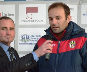 Real Forte Querceta - Massese 0 - 0 Video intervista ad C. Zanetti del 17/12/17
