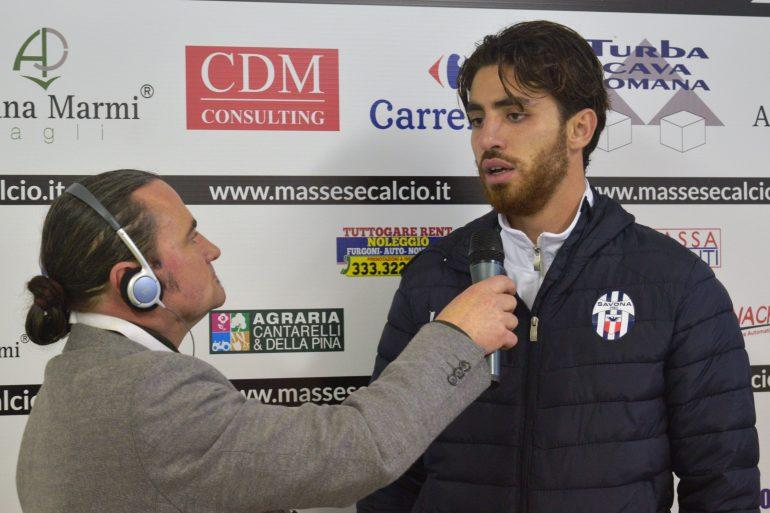 Massese – Savona 0 – 2. Intervista a D. Balestrero del 21/01/18