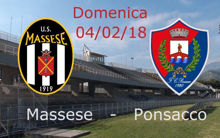 Massese – Ponsacco: quadro del match, convocazioni ed arbitri.