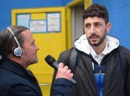 Intervista esclusiva di Umberto Meruzzi ad A. Cargiolli, dopo Albissola - Massese 1 - 0.  del 18/03/18
