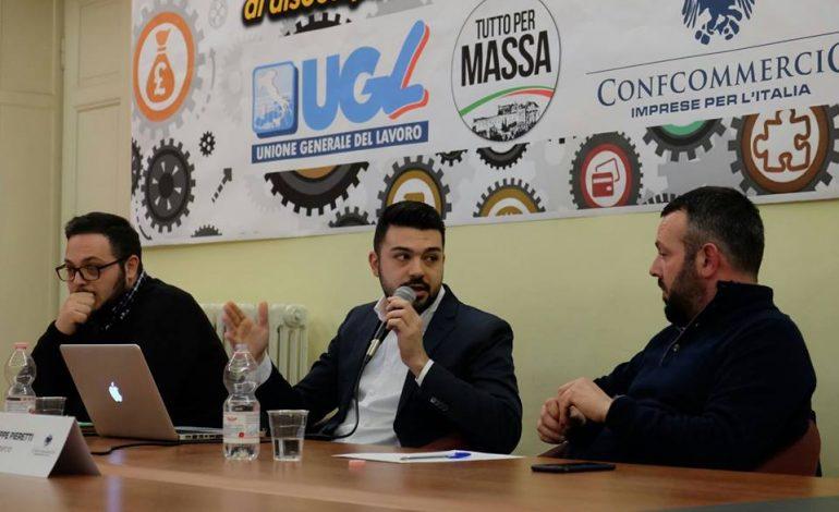 MASSA – Mangiaracina (TPM) parla di lavoro con UGL e Confcommercio