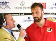 Video intervista esclusiva a V. Cammaroto dopo Massese - Sestri Levante 1 - 0 del 22/04/18.