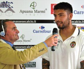 Video intervista esclusiva a B. Gioè dopo Massese - Sestri Levante 1 - 0 del 22/04/18.
