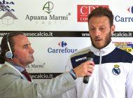 Video intervista esclusiva a G. Falchini dopo Massese - R. F. Querceta 1 - 1 dello 06/05/18