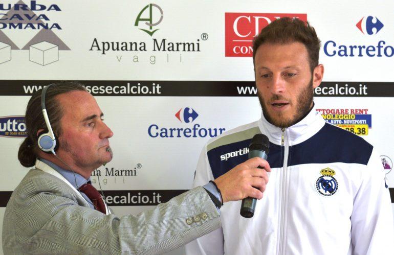 Video intervista esclusiva a G. Falchini dopo Massese – R. F. Querceta 1 – 1 dello 06/05/18